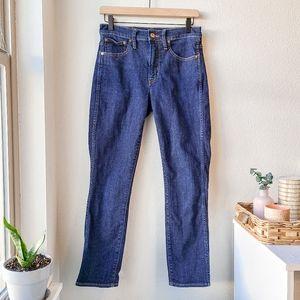 "J. Crew 9"" Vintage Slim-Straight Jean in Medium Wash"